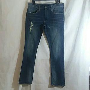 Buffalo Mens 34 Max-x Super Skinny Stretch Jeans